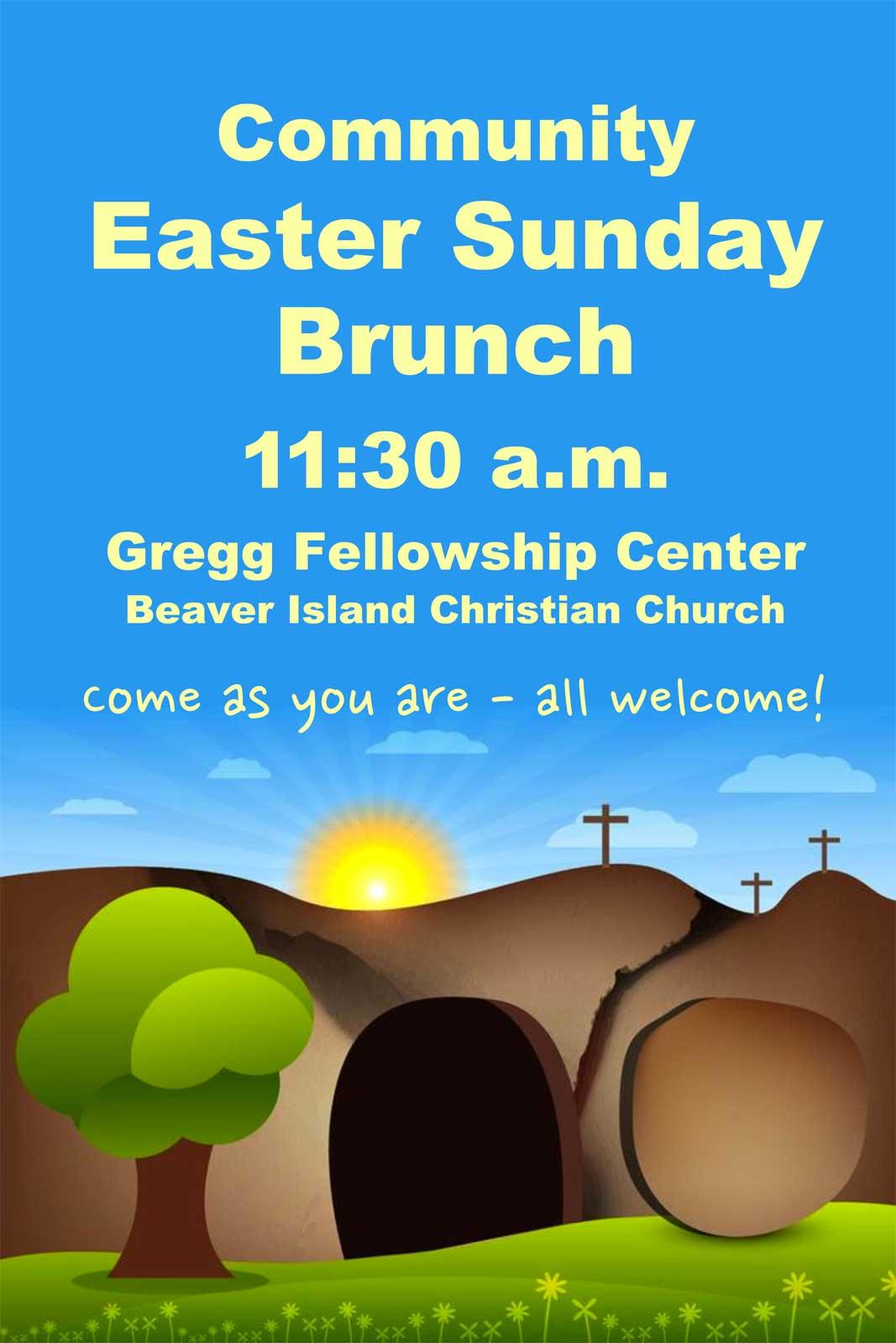 Easter Brunch @ Gregg Fellowship Center