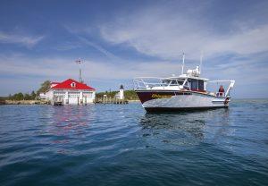 CMU Scientific Cruises on M.V. Chippewa @ CMU Whiskey Point Boathouse | Beaver Island | Michigan | United States