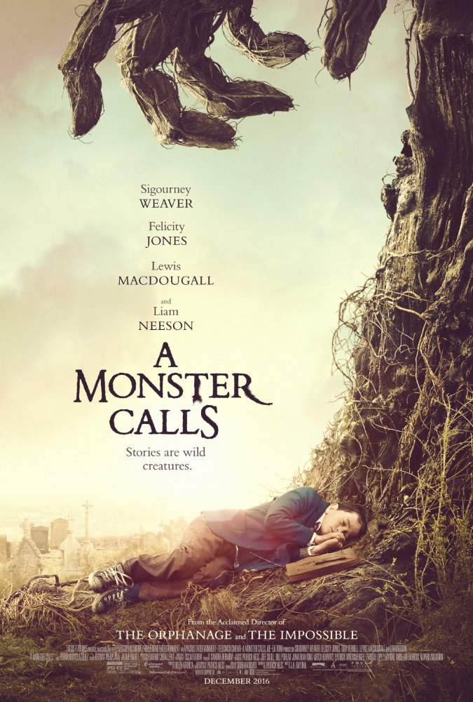 A Monster Calls PG-13 Movie Poster