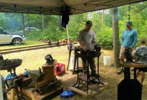 Michigan Blacksmiths Artist Association Day 1 @ Heritage Park | Beaver Island | Michigan | United States