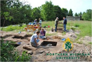 NMU Field Archaeology Program Presentation @ CMU Biological Station