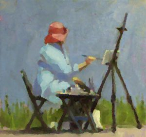 Outdoor (Plein Air) Painting @ Beaver Island Gallery | Beaver Island | Michigan | United States