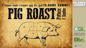 Island Summit Pig Roast @ CMU Biological Station   Beaver Island   Michigan   United States