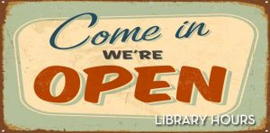 New Library Hours! @ Beaver Island District Library |  |  |
