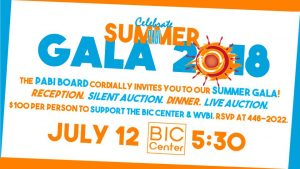 PABI Summer Gala 2018 @ Beaver Island Community Center