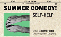 CMU Summer Theater: Self-Help @ Beaver Island Community Center
