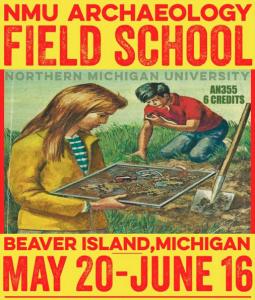 NMU Archaeology School @ CMU Biological Station