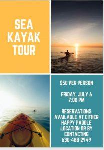 Sea Kayak Tour @ Happy Paddle