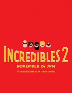 Incredibles 2 @ Beaver Island Community Center