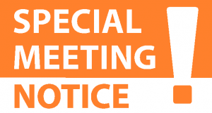 Joint Township Waste Transfer Committee Special Meeting @ Peaine Township Hall