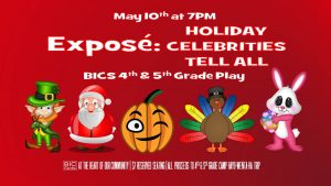 Exposé: Holiday Celebrities Tell All @ Beaver Island Community Center | Beaver Island | Michigan | United States