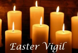 Holy Saturday Easter Vigil Mass @ Holy Cross Catholic Church