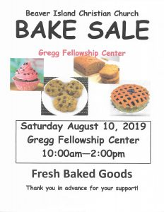 Beaver isand Christian Church Bake Sale @ Gregg Fellowship Center |  |  |